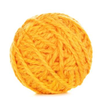 Orange Yarn Ball