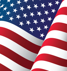 United States Waving Flag Background