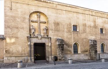 Monastery of San Juan de los Reyes, Toledo. Spain.