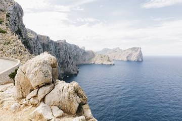 Steilküste am Cap Formentor