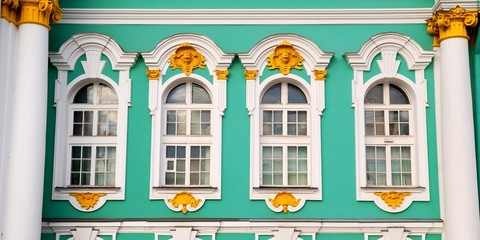 Winter Palace (Hermitage) close-up