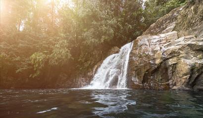 Wasserfall im jungle