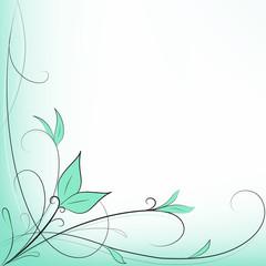 Sfondo Decorazione Foglie Verde E Giallo Buy This Stock Vector And