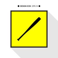 Baseball Bats icon 1  Vector EPS10, Great for any use.