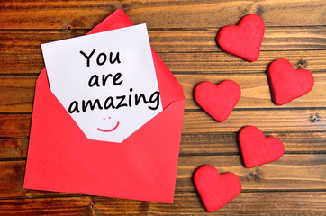 You are amazing text