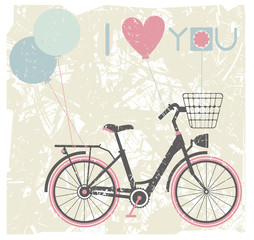 Valentines day greeting card background