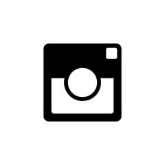 camera icon on white background isolate vector illustration eps 10