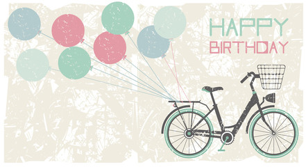 Birthday greeting card background