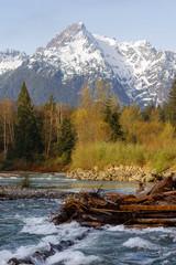 Whitehorse Mountain North Cascades Darrington WA Sauk River