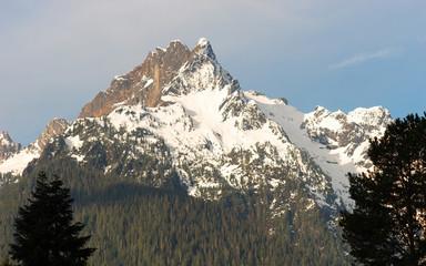 Whitehorse Mountain Top Sauk River Valley North Cascade Mountain