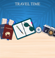 Travel and adventure template