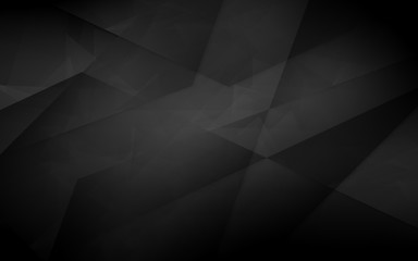 Dark abstract polygonal background