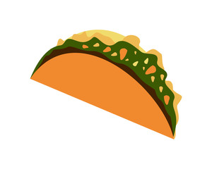 Simple Taco Illustration