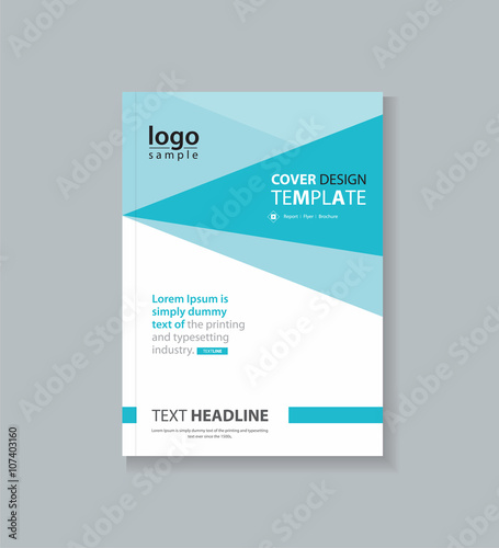 Business Cover Design Template , Brochure , Annual Report, Flyer