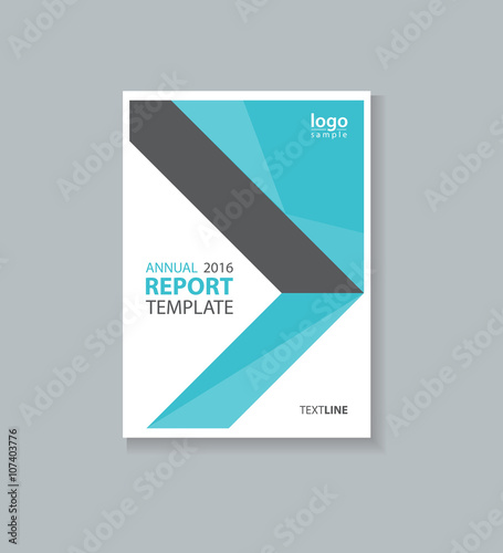business cover design template brochure annual report flyer