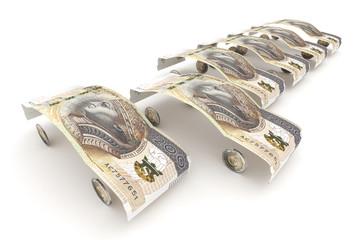 200 zloty parking