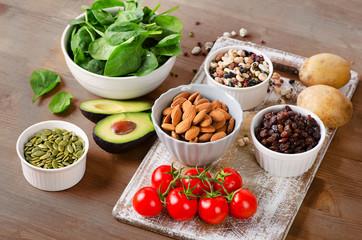 Foods containing potassium