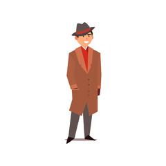 Gangster Vector Illustration