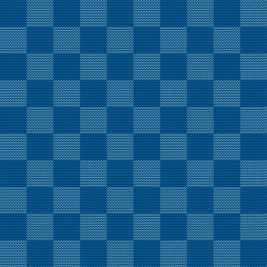 Seamless knitted geometric pattern, vector illustration