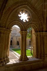 Rueda Cistercian monastery, XIII century, Zaragoza, Aragon, Spain