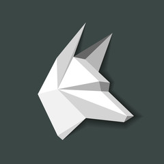 geometric wolf vector3