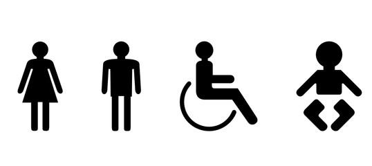 Icons Toilette