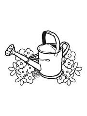 Garden watering flower gardening