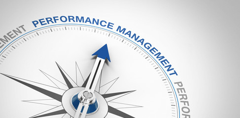 Performance Management Wall mural