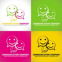 logo communication création entreprise idée