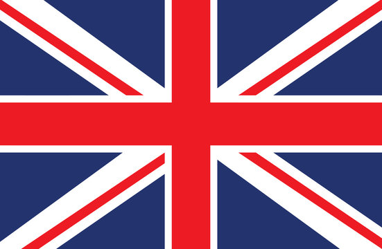Vector of United Kingdom flag.
