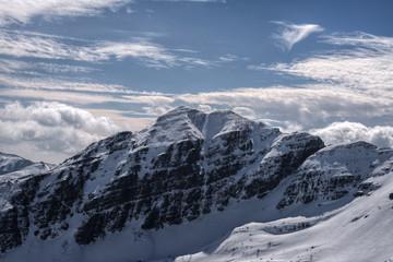 north face of the peak Campanario
