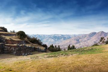 ruins of ancient Inca fortress