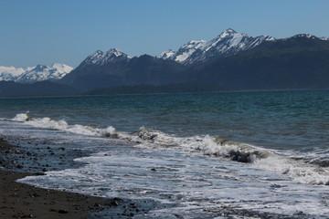Seashore in Homer, Alaska