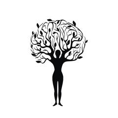 человек дерево
