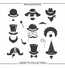 Masquerade funny objects