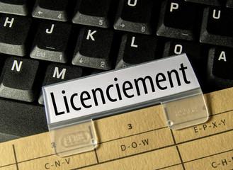 Licenciement (personnel, emploi, chômage)