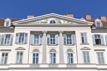 Beautiful old building on Freiheitsplatz in Graz, Austria