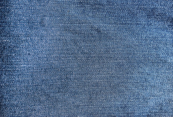 Abstract new denim blue jeans texture