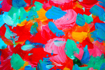 floral decorative abstract painting for interior, background