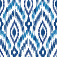 Ikat Ogee Background  57