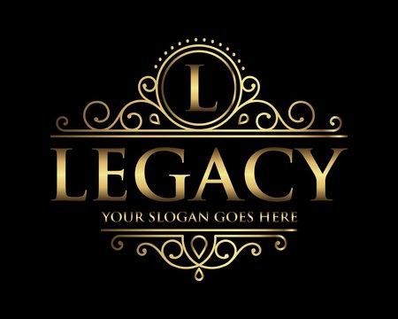 Legacy logo icon vector template