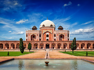 Photo sur Plexiglas Delhi Humayun's Tomb. Delhi, India