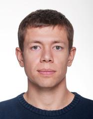 Male portrait close-up photo
