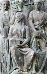 sculpture...façade