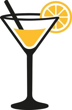 Cocktail glass margarita