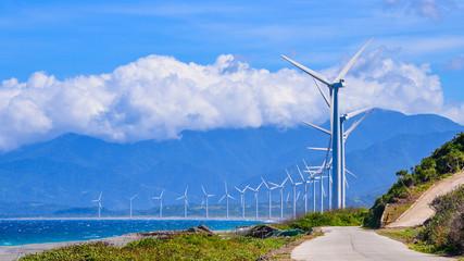 Bangui Wind Farm - Bangui, Ilocos Norte, Philippines