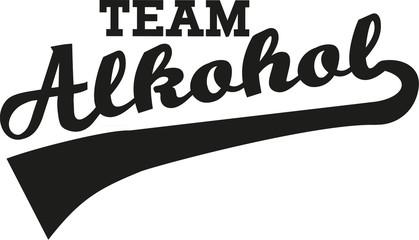 Team Alcohol font