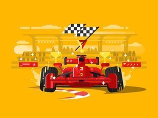 Sport car formula one