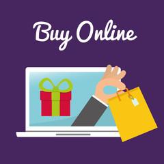 Digital marketing and ecommerce design, vector illustration