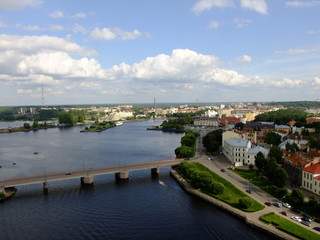 Вид с башни. Выборг, Старый город. Vyborg, Old Town.